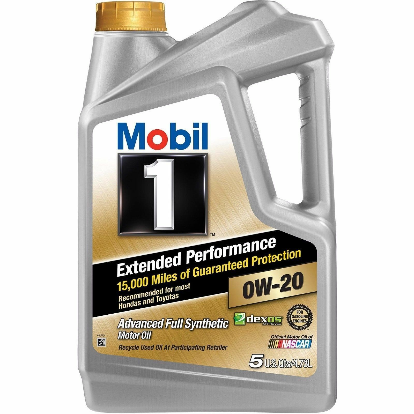 Mobil 1 extended performance 0w 20 full synthetic motor for Synthetic motor oil sale