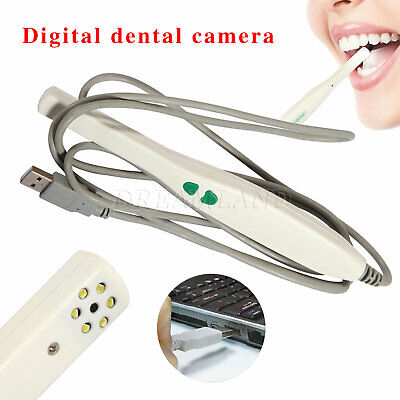 Dental Intraoral Camera Usb Sony Ccd 6 Led Lamp Auto-focus Md740 Usb-p 1pc Bbaq