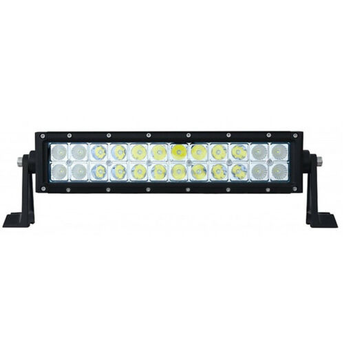 "13.5"" High Power Double Row 24 LED Light Bar Work Off Road 4WD Truck Fits Jeep"