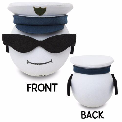 Quantity 5 pcs - CoolBalls® Military U.S. Navy Men Car Antenna Topper / Ball