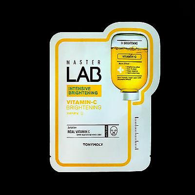 TONYMOLY - Master Lab Intensive Brightening Vitamin C Facial Mask Skin Fit Sheet