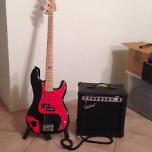 Squirer by Fender precision Bass Guitar & amp Cooloongup Rockingham Area Preview