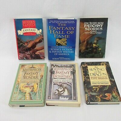 Fantasy Masterpieces Short Story Collection Years Best Annual Hardcover Book