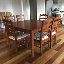 Dining table and chairs Croydon North Maroondah Area Preview