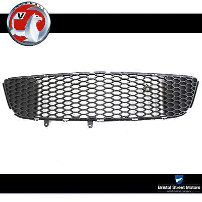 Genuine Vauxhall Astra H VXR Honeycomb Lower Radiator Grille New 93186611