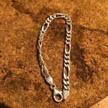 STERLING SILVER FIGARO 3 BRACELET LADIES Seville Grove Armadale Area Preview