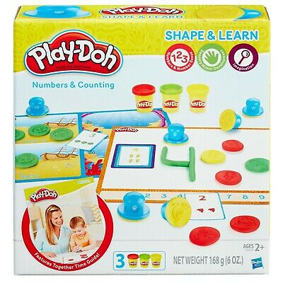 Play-Doh Shape and Learn Numbers and Counting - BRAND NEW