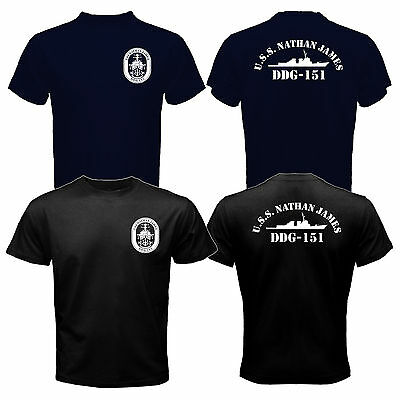 3f08c2e3bf4 New The Last Ship USS Nathan James DDG-151 US Navy Seal TV Series T-shirt  Tee