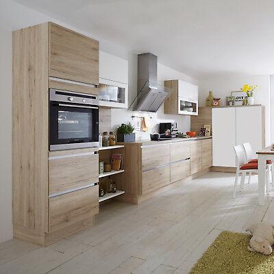Nobilia Einbauküche L-Küche Küche inkl. E-Geräte mit Auswahlfarben 727 gebraucht kaufen  Bielefeld
