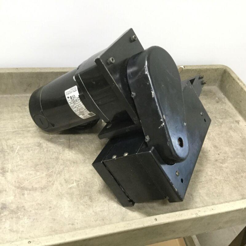 Dorner 2100 Series Conveyor Mid Drive, With Bodine 42A5BEPM-E3 Gearmotor