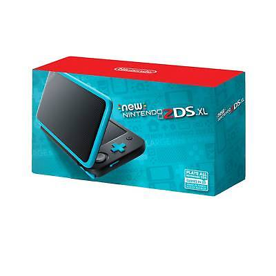 New Nintendo  174  2Ds  153  Xl   Black And Turquoise