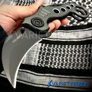 Tac Force Speedster Model Knives POCKET KARAMBIT KNIFE Spring Assisted Blade NEW