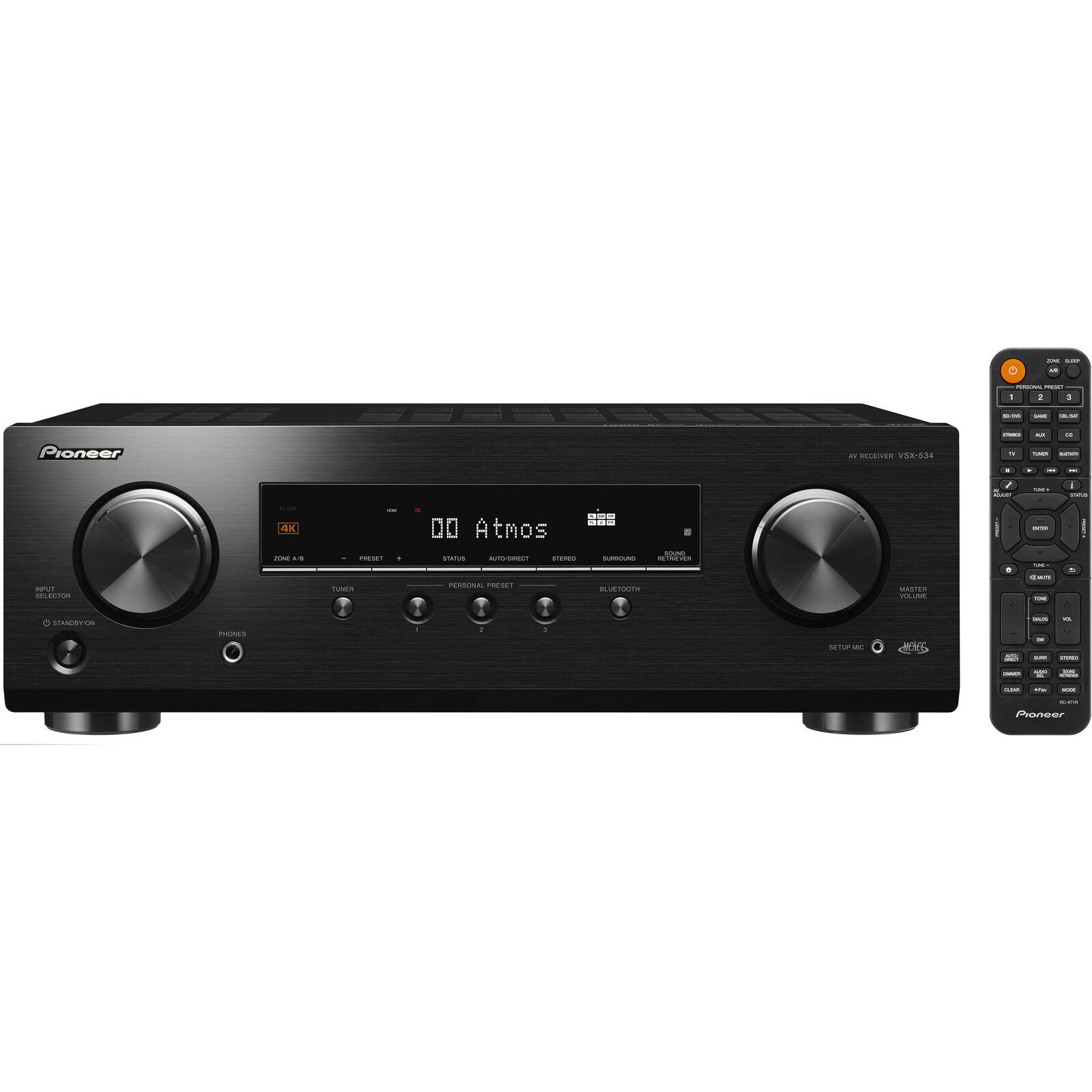 Pioneer VSX532 5.2-channel AV Receiver