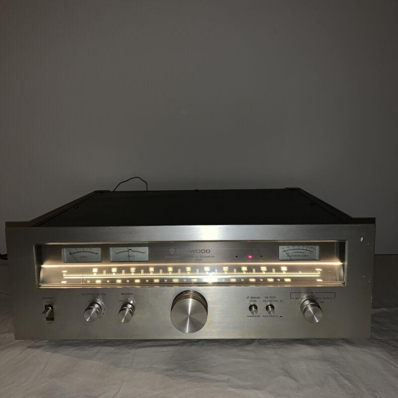 Kenwood KT-8300 AM/FM Tuner – Nice! Kt8300 KT 8300