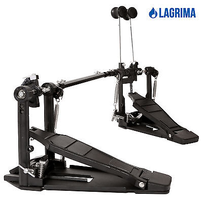 Drum Pedal Double Bass Dual Foot Kick Pedal Percussion Single Chain Drive