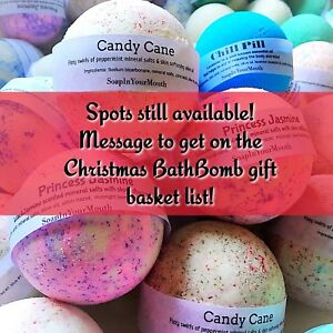 BathBomb Christmas Gift Baskets