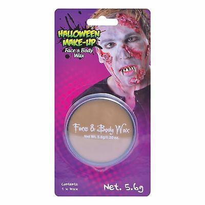HALLOWEEN FACE AND BODY SKIN WAX Fancy Dress Stage FX Make Up Accessory - Fx Wax Halloween