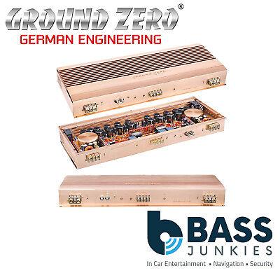 Ground Zero GZPA-4PURE - 4 Channel 4 x 150W RMS @ 4 Ohm SQ Car Amp Amplifier