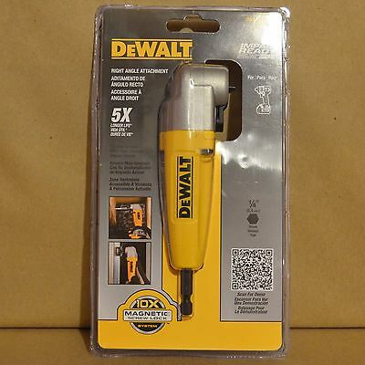 Brand New DEWALT DWARA100 Right Angle Adapter Attachment