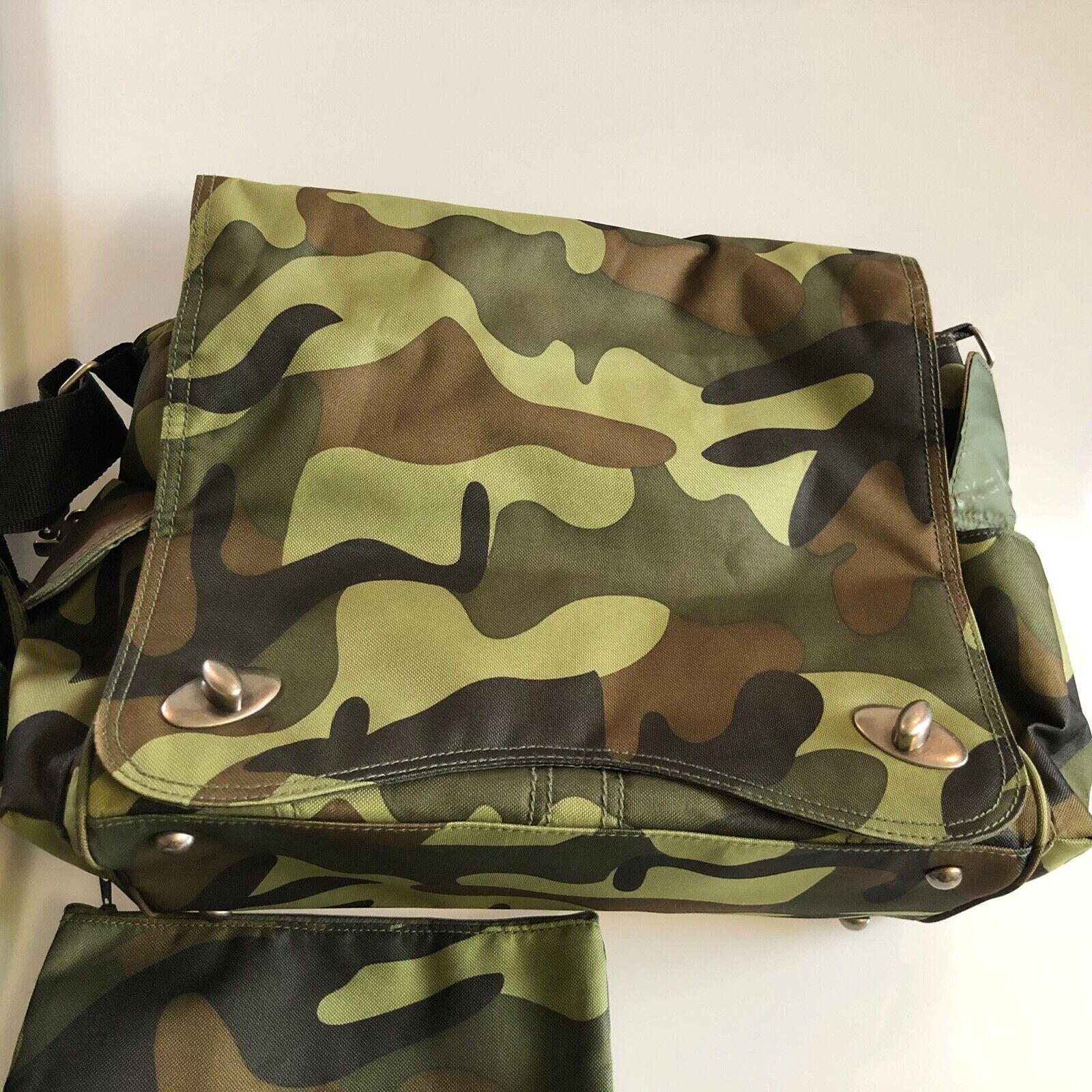 Kalencom Sam's Duck Duck Goose Messenger Bag, Green