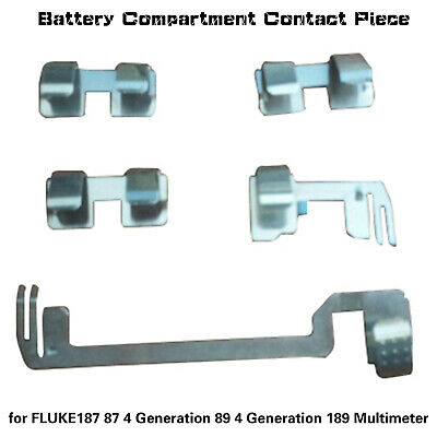 Replacement Battery Contact Piece Repair Accessories For Fluke Multimeter Parts