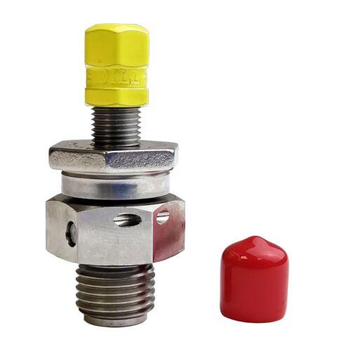 Accumulator Nitrogen Charging  Gas Valve - 5000 PSI   Metal Seal  MS28889-2