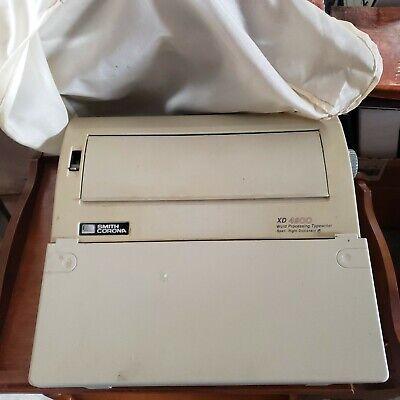 Smith Corona Xd4900 Word Processing Typewriter Wcover Manual Ribbon Pinwheel