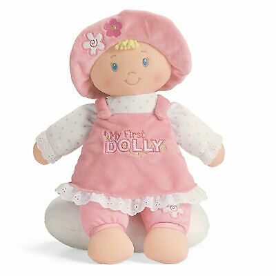 Gund 59033 My First Dolly Blonde Stuffed Doll