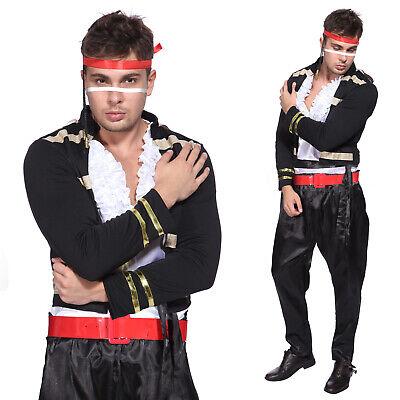80er Jahre Adam Ant Prinz Kostüm Herren Rüschen-hemd Hammer Hose Pants - Adams Kostüm