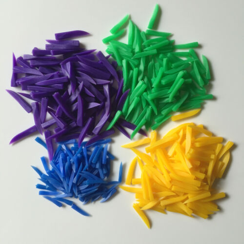 400 PCS Dental Disposable Teeth Diastema Wedges Denture Material Supply 4 Sizes
