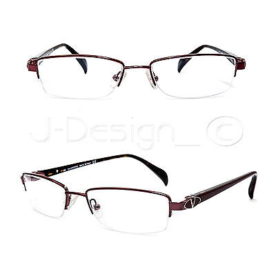 VALENTINO 5593 0NJZ Half-Rimless Eyeglasses Rx - Made in Italy - New Authentic