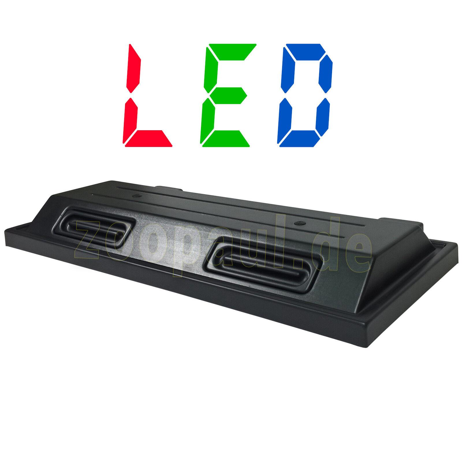 LED 80x35 cm Aquarium Terrarium Abdeckung Beleuchtung Deckel schwarz Sparsam Rio
