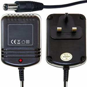 9V Universal Power Supply -AC/AC 500mA- UK Mains Transformer PSU Adapter Charger