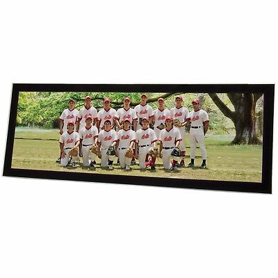 """24"""" x 8"""" Acrylic Panoramic Picture Frame with Easel Back"""