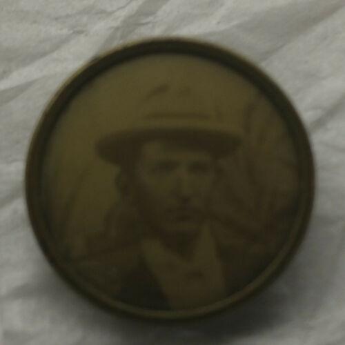 Vintage Mourning Pin Photograph Man