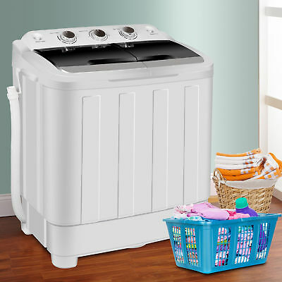 Washing Machine 17.6lbs Family Appliance Top Loard Release Hands Wash Dryer Cycle