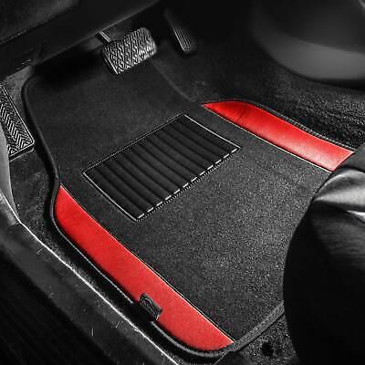 4pcs Universal Carpet Floor Mats for Car SUV Van 10 Color Options Full Set
