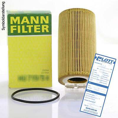 MANN-FILTER Ölfilter Oelfilter Oil Filter HU 8010 z