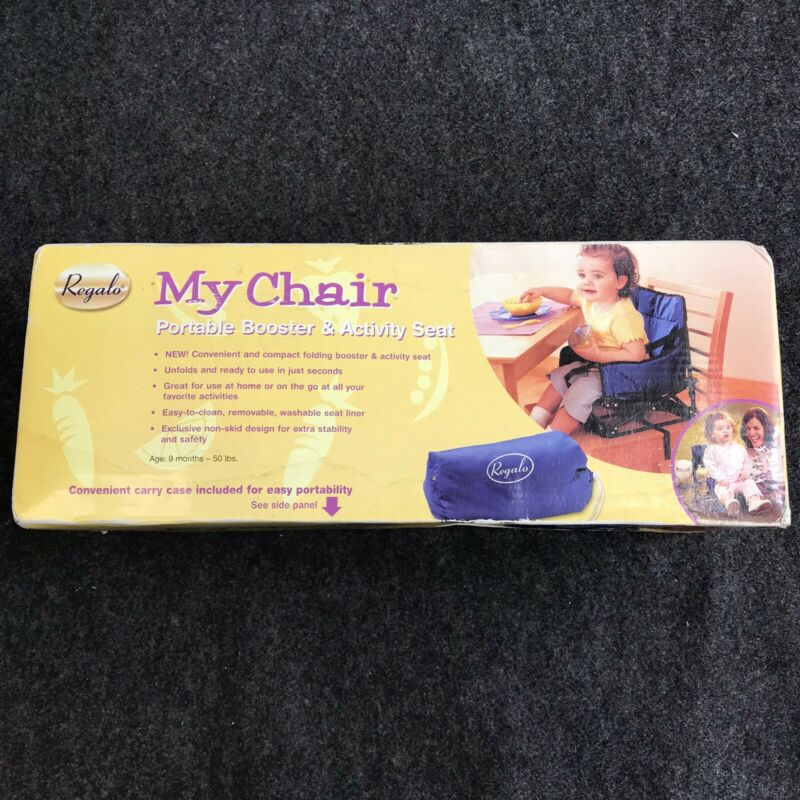 Regalo My Chair Portable Booster & Activity Seat Blue RM