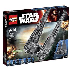 LEGO-Star-Wars-Kylo-Ren-039-s-Command-Shuttle-75104-Raumschiff-OVP