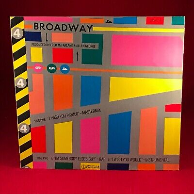 """JOCELYN BROWN I Wish You Would 1984 UK 12"""" vinyl single EXCELLENT CONDITION"""