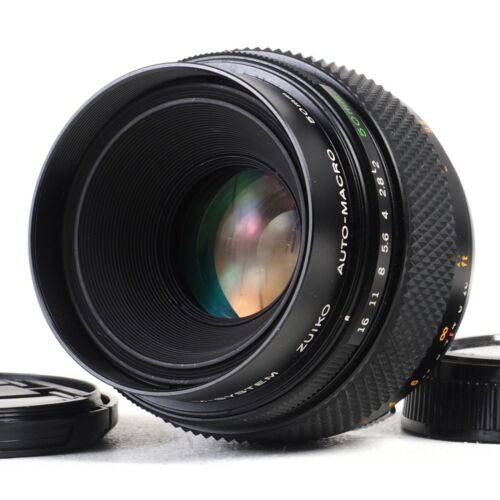:[MINT-] Olympus OM Zuiko Auto-Macro 50mm f2 Manual Focus Prime Lens