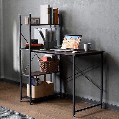 41 Computer Desk Shelf Corner Pc Laptop Table Study Workstation Home Office Us