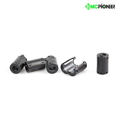 5pcs 11mm Noise Emi Rfi Filter Ferrite Core Cable Ring Choke Suppressor Shield
