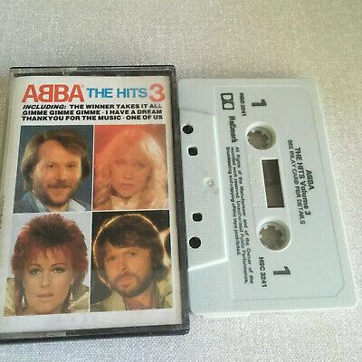 ABBA - THE HITS VOLUME 3 - TAPE CASSETTE ALBUM