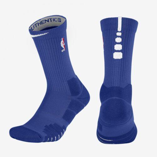 Details about NBA Nike Elite Quick Crew Rush Blue White Basketball Socks MSRP $22 SX7037 495