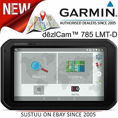 "Garmin DezlCam 785LMT-D 7"" Truck GPS SatNav+Dash Cam│Lifetime Europe Map+Traffic"