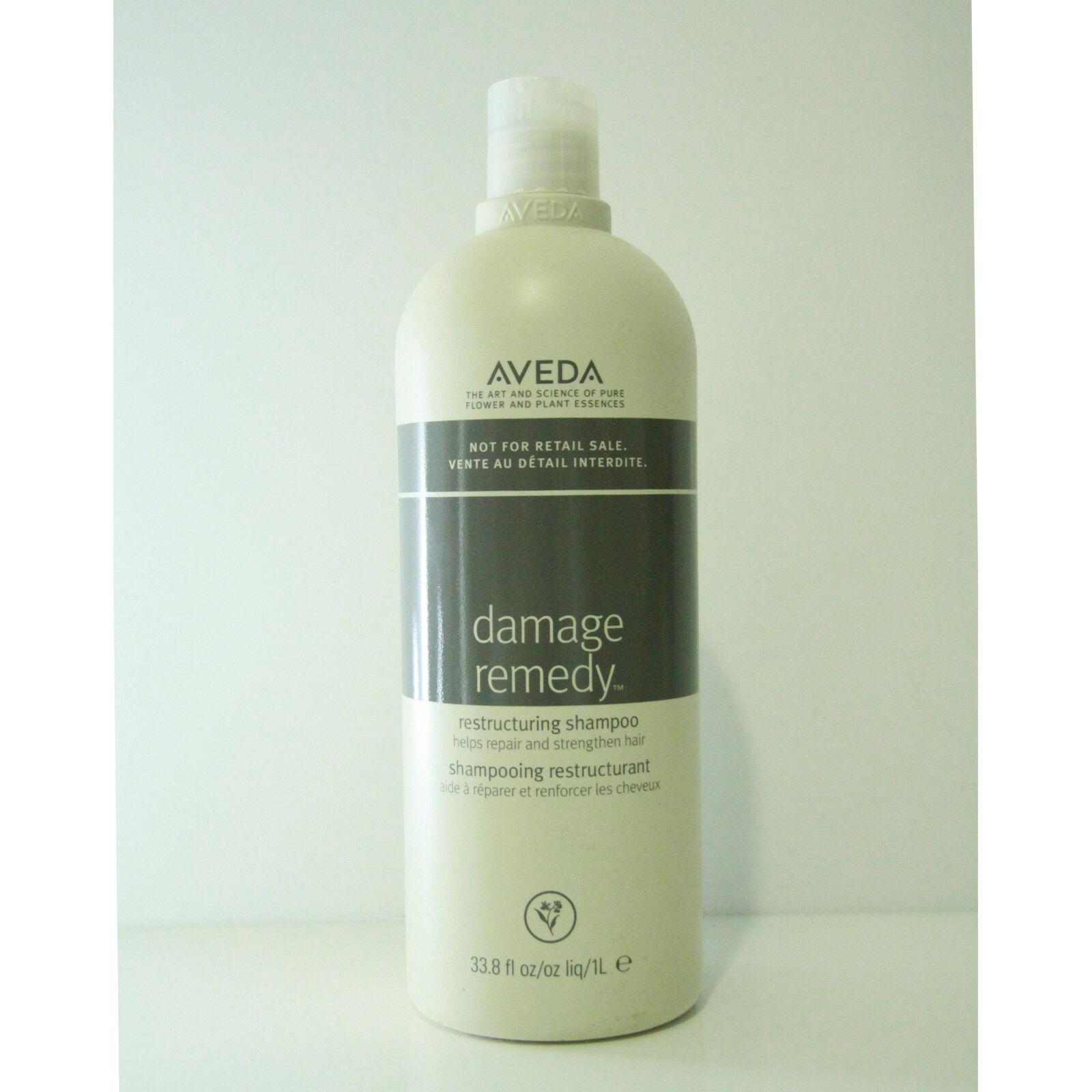 Aveda damage remedy restructuring shampoo 33.8 oz 1 Liter