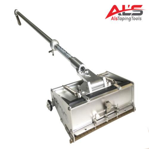 "Platinum 8-Inch Professional 8"" Drywall Flat Finishing Box w/ 42"" Box Handle"