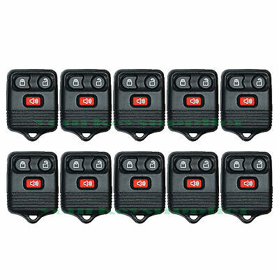 10 New Keyless Entry 3 Button Remote Key Fob for Ford Lincoln Mercury